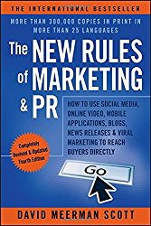 The New Rules of Marketing PR David Meerman